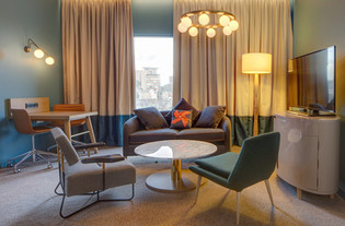 contemporary hotel seating