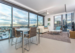 serviced apartment dining area furniture