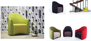 Modern Hotel Tub Chairs