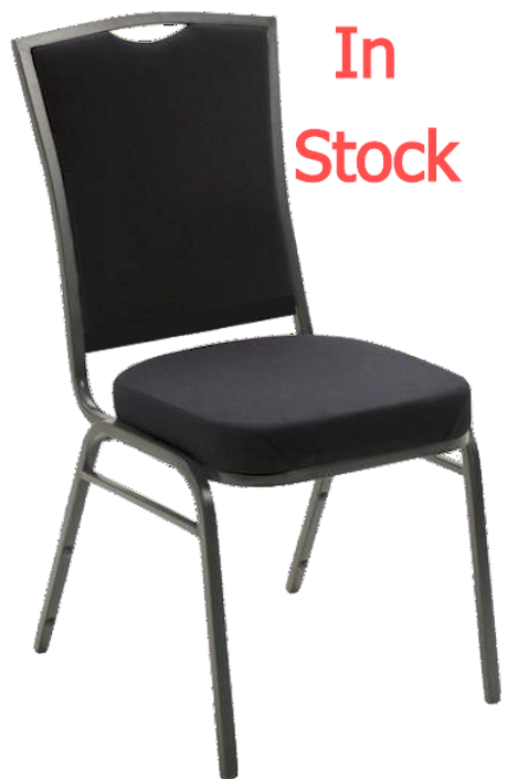 Classic Square Banquet Chair - stacking