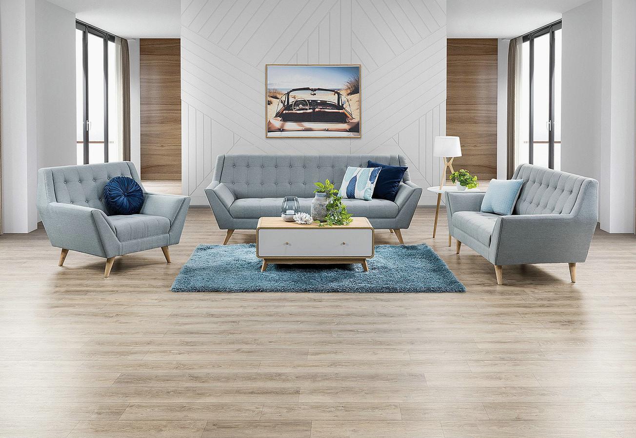 Coastal Buttoned Sofa Option