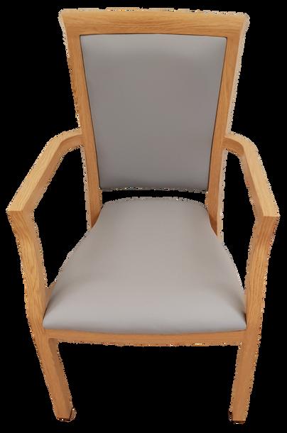High Back Custom Chair with Arms