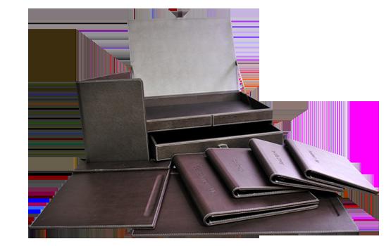 Hotel amenities range - leather