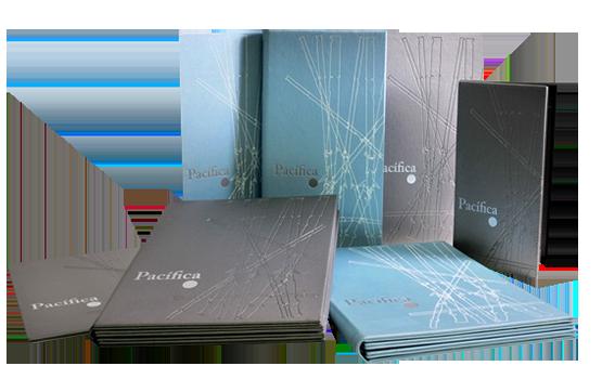 Printed and Embossed Menu Folder