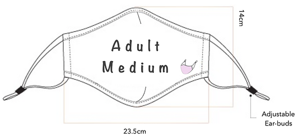 Adult Medium Mask Size