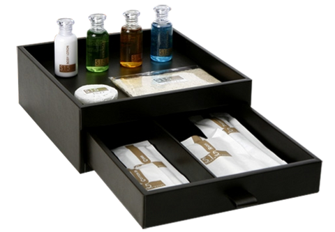 Timber bathroom Amenities Box