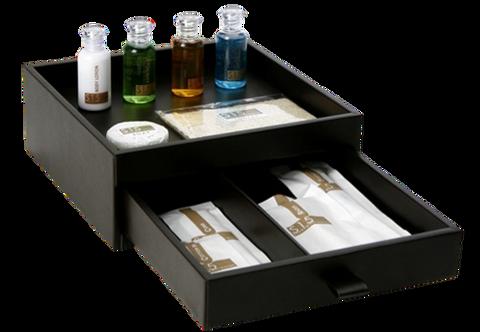 Timber bathroom Amenities Box