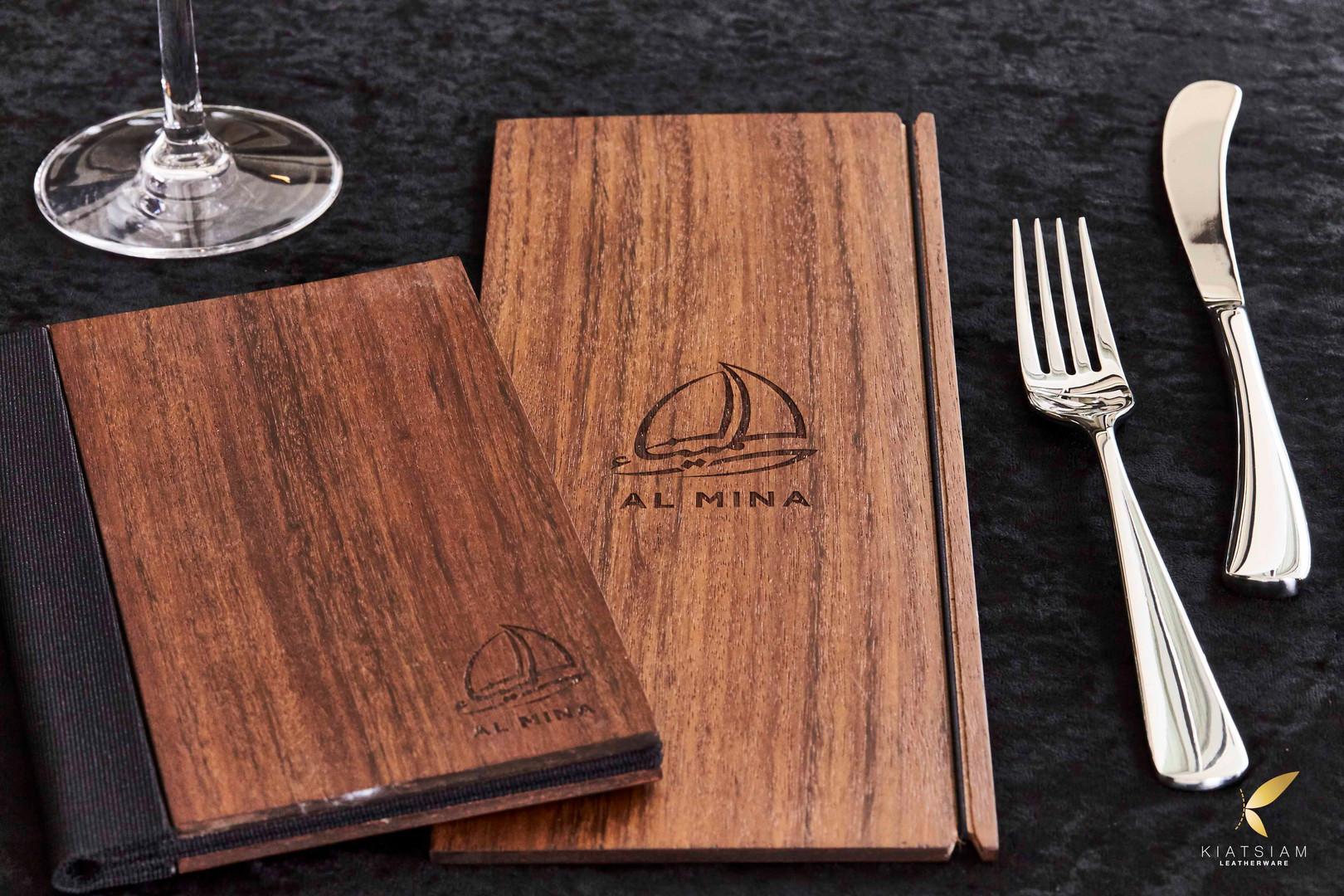 Timber Menu Folder