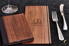 Wood Veneer Menu Covers