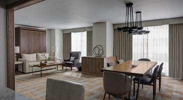 Marriott Hotels suite furniture
