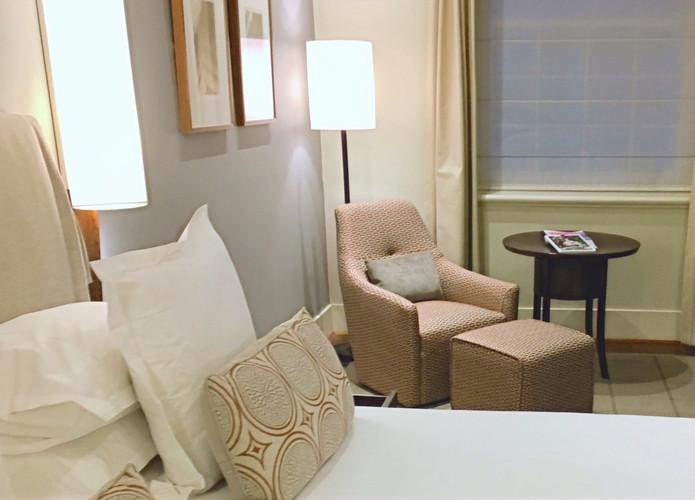 Custom hotel floor lamp