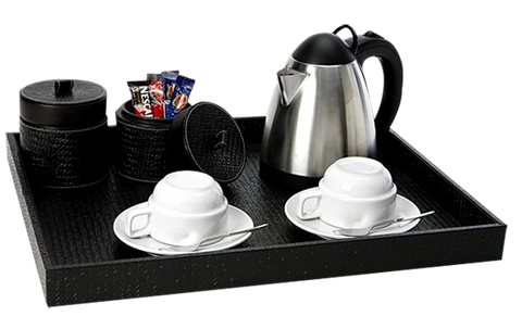 Tea and Coffee Tray and Accessories