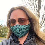 Jungle Green Face Mask