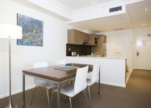 Quest serviced apartment fit-out