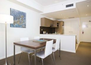 Quest serviced apartment fit-out