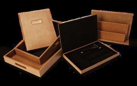 Complete Timber Veneer Amenity Sets