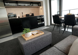 Servied aprtment furniture lounge