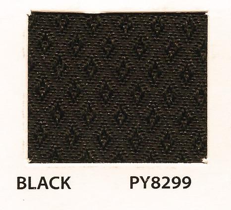 Pyramid Black Fabric