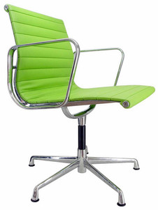 Eames Low Side Green Arm