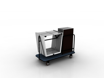 Premium Folding Buffet Table Cart