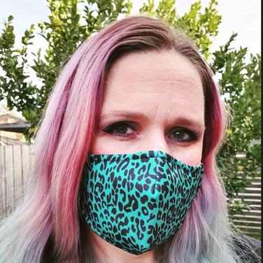 Jungle Green Face Masks