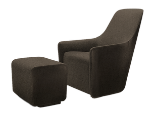 Rapallo Hotel Armchair and Footstool