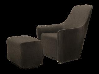 Custom armchair