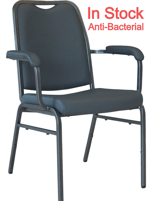 Helix Stacking Banquet Arm Chair Anti-Bacterial