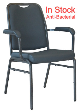 Helix Arm Stackng Chair Anti-Bacterial