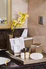 Resin Bathroom Amenity Tray