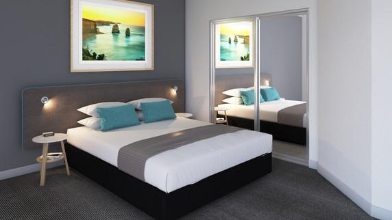 Resort Bedroom Bedhead Lighting