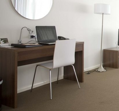 custom hotel desk project