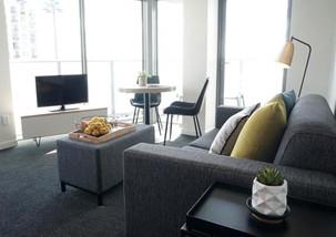 modern serviced apartment furniture