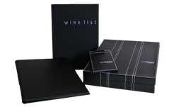 Modern Menu and Wine Lists