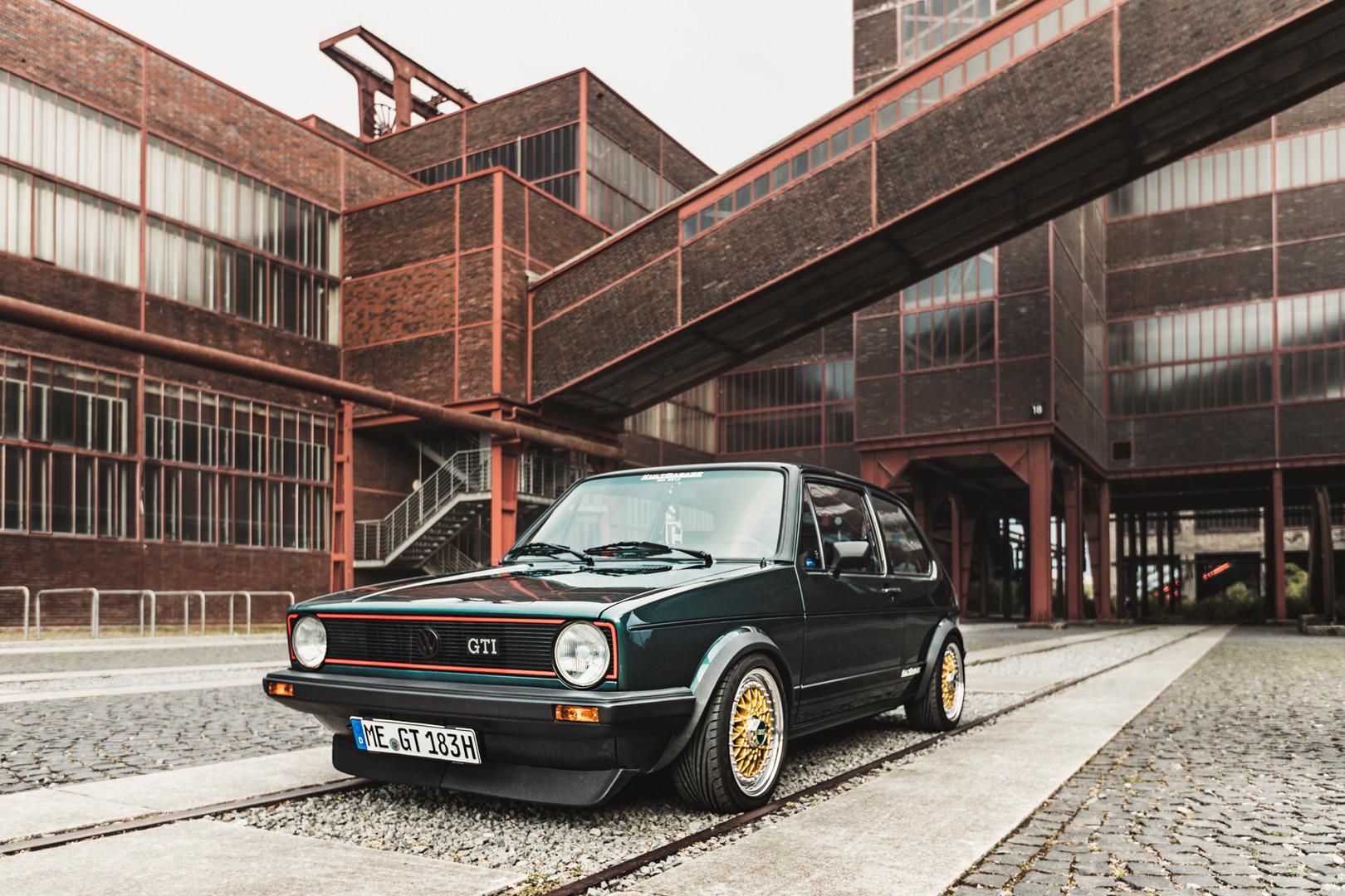 VW Golf 1 GTI - Zeche Zollverein / Essen