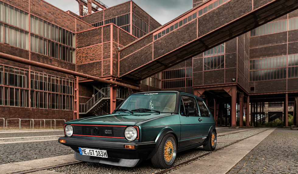 Altblechliebe - Golf Mk 1 GTI