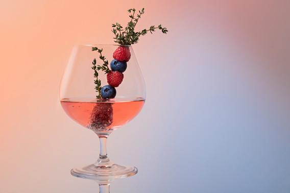 Cocktail im Studio