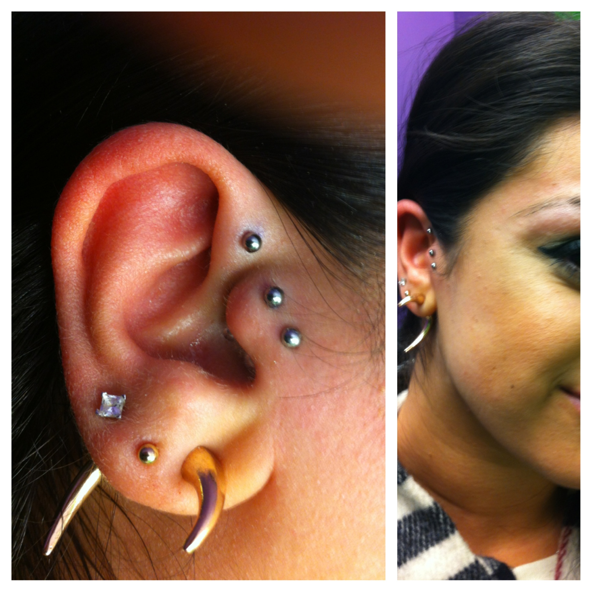 Anti Helix/Double Tragus