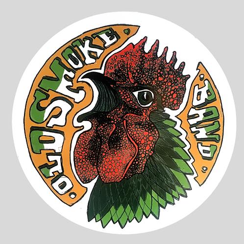 Premium Vinyl Sticker - Cock o' the Walk