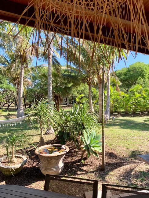 """Terrase de la """"Beach house"""""""