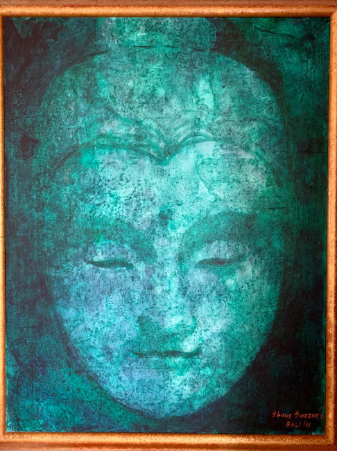 Superbe Boudha turquoise