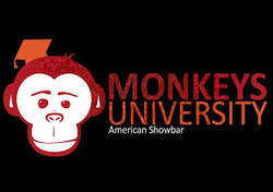 monkeys university party uni
