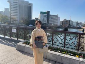 11月 着物で博多座歌舞伎
