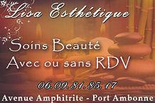 Salon Soins Beauté port Ambonne quartier naturiste Cap d'Agde