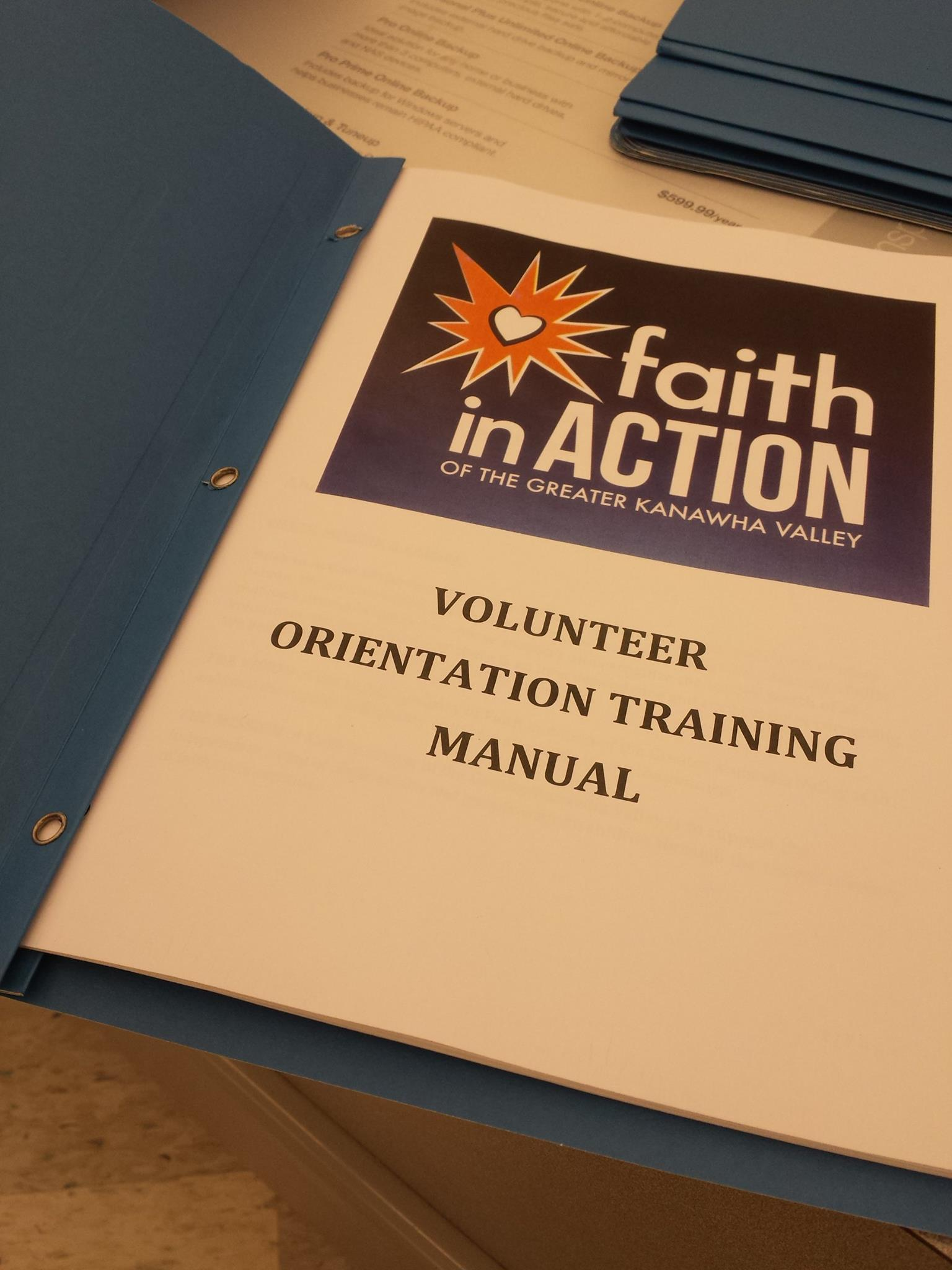 Volunteer Orientation Training