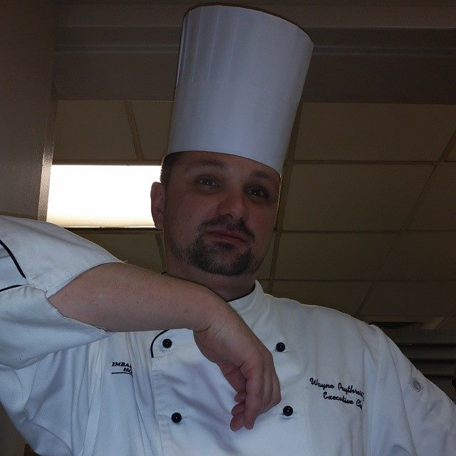 Entrant: Chef Wayne Poythress!