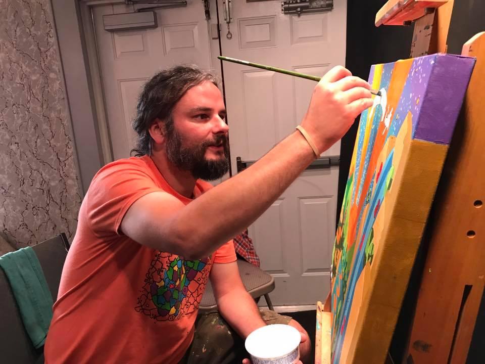 Artist Ian Bode