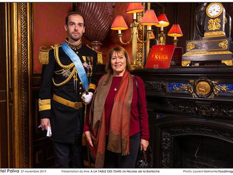 """Revue de presse du livre """"A la table des Tsars"""""""