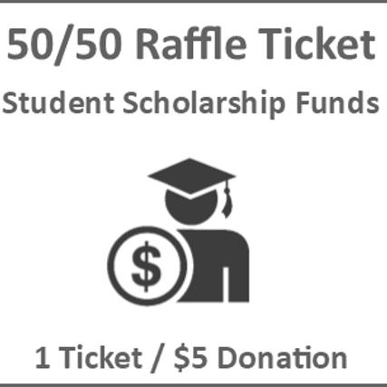 50/50 Riffle Ticket - Single Ticket
