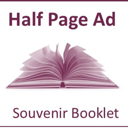 Half Page Ad - Souvenir Booklet